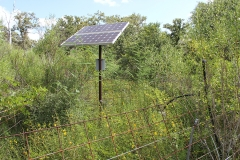 solar powered well