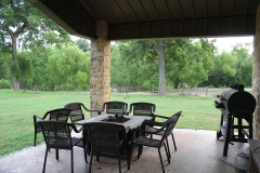 Barndo porch view